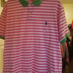 Men's Polo short sleeve shirt, size XL